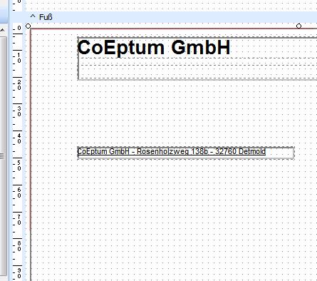 Rechnungsvordruck Einrichtung Konfiguration Orgamax